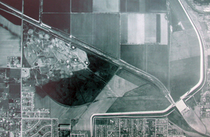 Aerial View of the Sepulveda Basin, 1953
